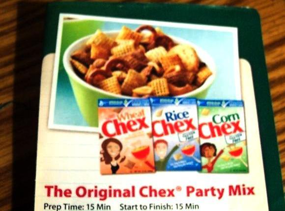 The Original Chex Party Mix .. From The G.m. Box Recipe