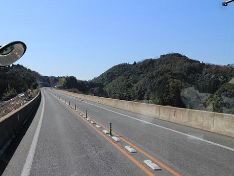 広島電鉄「グランドアロー」普通便 29696 松江自動車道走行中 その1