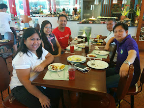Photo: Team Lunch before heading to Indang