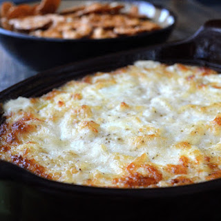 The BEST Hot Onion Dip.