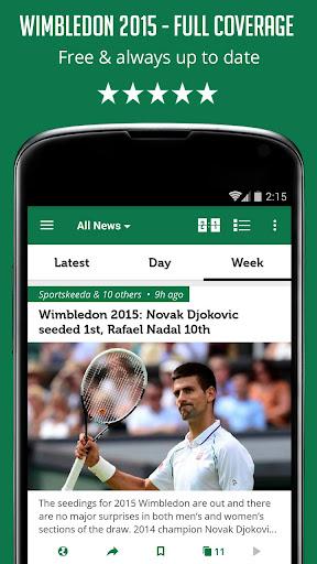 Unofficial Wimbledon 2015 News