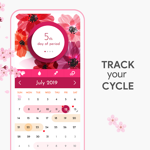 My Calendar - Period Tracker screenshot 1