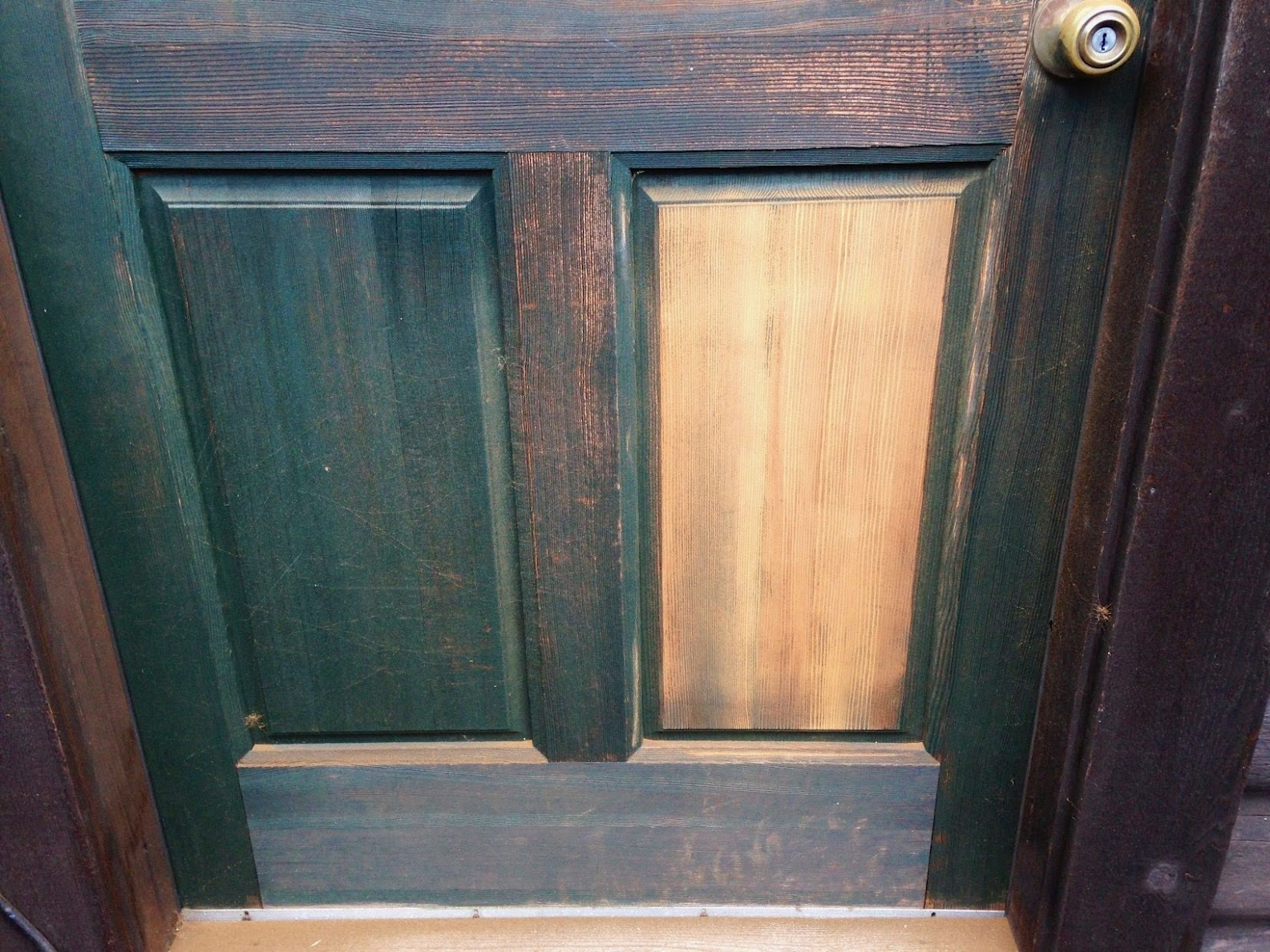 Entrance Door Repainted