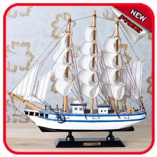 Beautiful ship miniature - náhled
