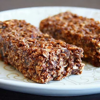 Chocolate Granola Bars (no-bake).