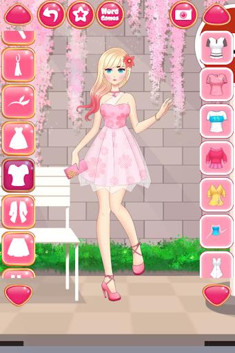 Anime Girls Fashion - Makeup & Dress up apktram screenshots 2