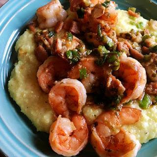 ~ Shrimp & Parmesan Grits ~