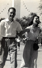 Photo: Patrick Alonzo Tillery 1950s and Sonja Sims at UT 1952