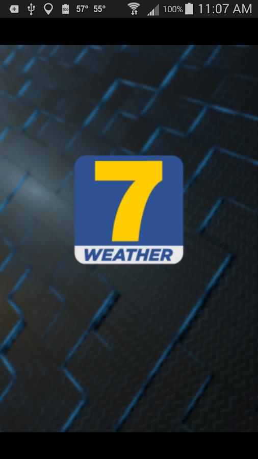 WDAM 7 Hattiesburg Weather - screenshot