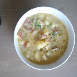 Lazy Potato Leek Soup.