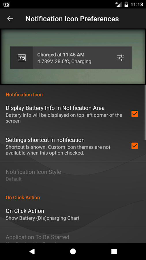 Gauge Battery Widget 2017- screenshot