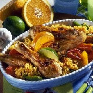 Karibischer Hühnertopf Calypso