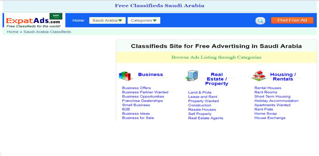 Saudi Arabia Free Classifieds Ads KSA Saudi app 1 0 Apk Download