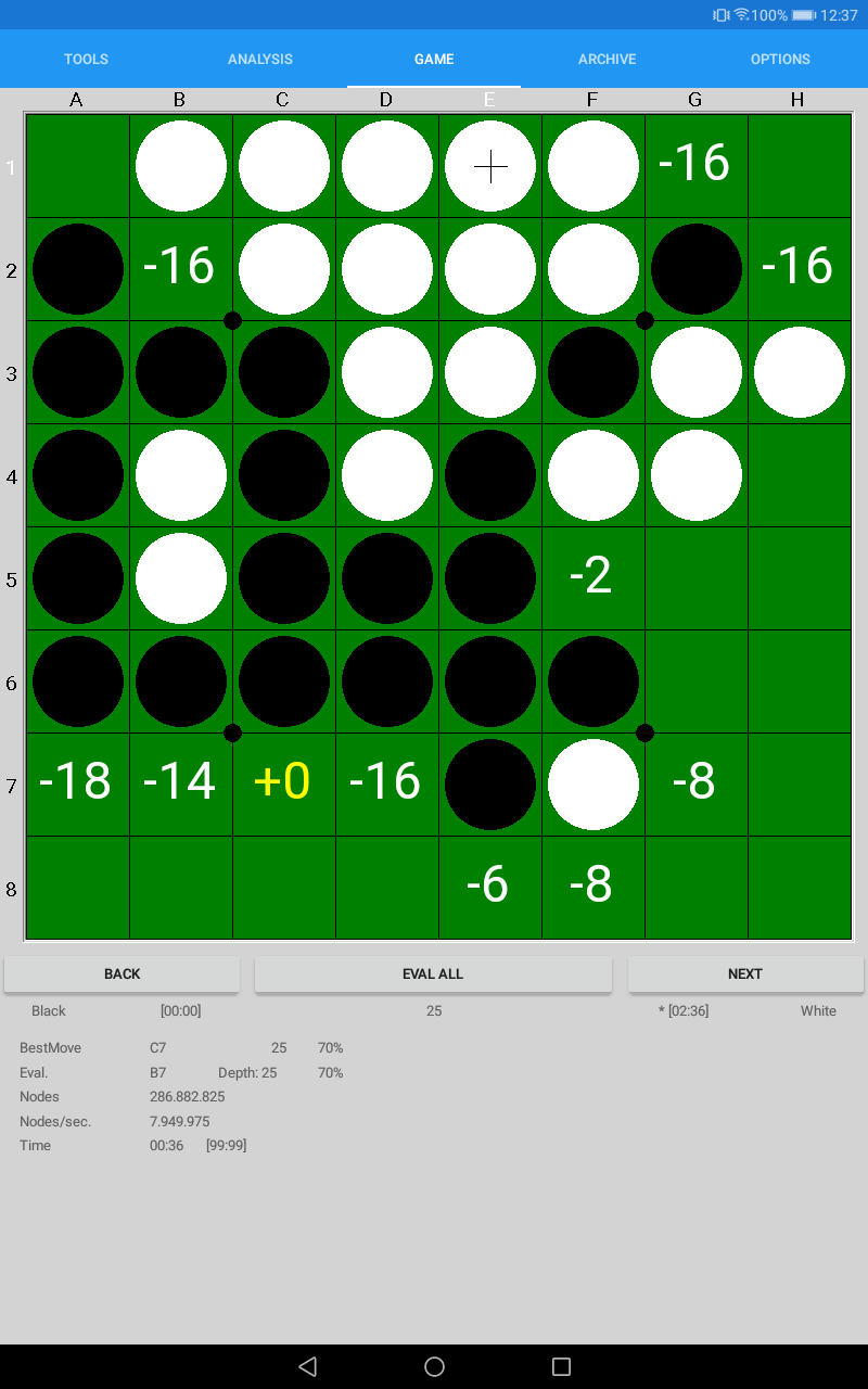 SaioApp - The strongest Othello engine Screenshot 11