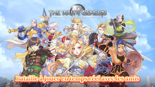Code Triche The War of Genesis: Battle of Antaria APK MOD screenshots 1