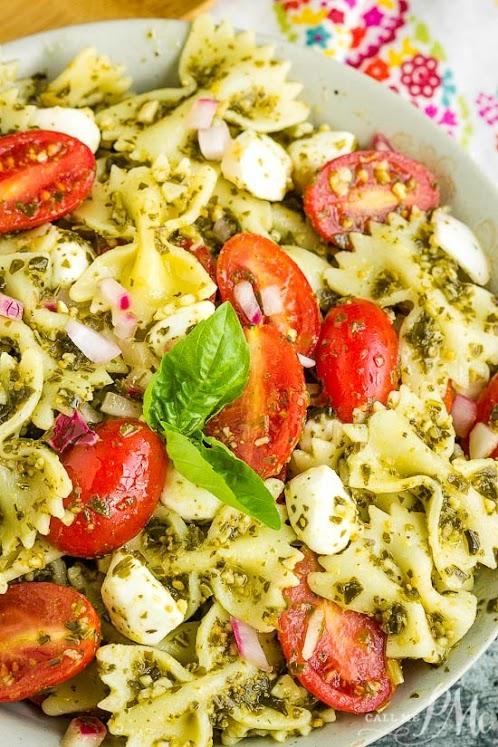 Bowtie Pesto Pasta Salad