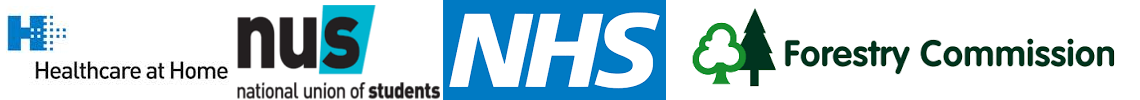 Heathcare at Home, NHS, NUS, Foresty Commission