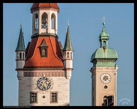 Photo: München: Altes Rathaus und Glockenturm der Heilig-Geist-Kirche Fotos aus Europa: http://goo.gl/xJ6VQ8