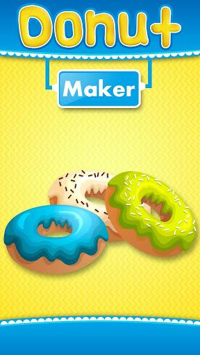 甜甜圈制造商 - 儿童烘焙游戏