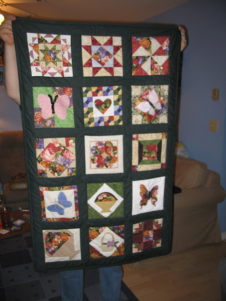 Photo: 2004 WW Quilt Shop Hop Quilt. Made for my Oma, Christmas 2005