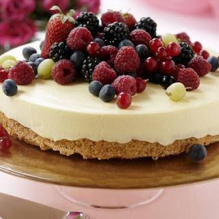Summer Berry Ice Cream Gateau