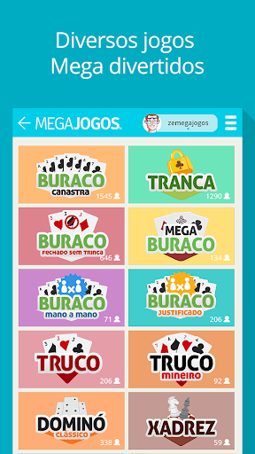 MegaJogos - Online Card Games and Board Games  gameplay | by HackJr.Pw 1