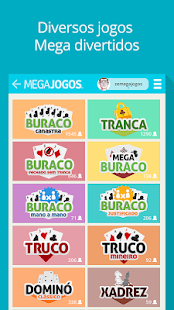 MegaJogos - Online Card Games and Board Games- screenshot thumbnail