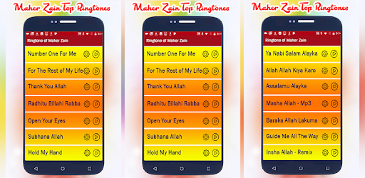 Ringtones of Maher Zain - Arabic Top Tone - Apps on Google Play