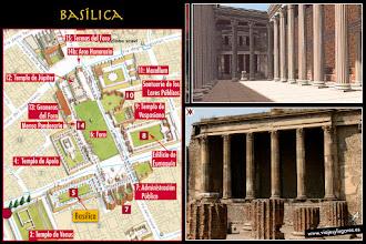 Photo: 8: La <b>Basílica</b> estaba dedicada a la administración de justicia y a las transacciones comerciales. Pompeya tuvo gran peso en el comercio, así que se supone que la basílica sería una parte muy viva de la ciudad.
