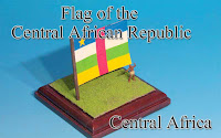 Flag of the Central African Republic -Central African Rep.-
