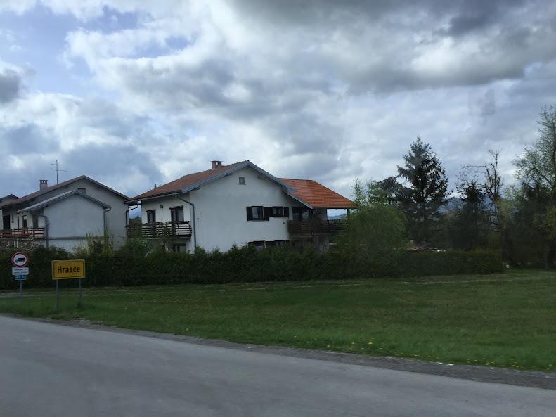 スロベニアの住宅地