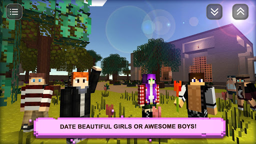 Date Craft: Girls & Boys, Love Choices Dating Game 1.9 screenshots 1