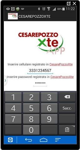 android CesarePozzoPerTe Screenshot 0