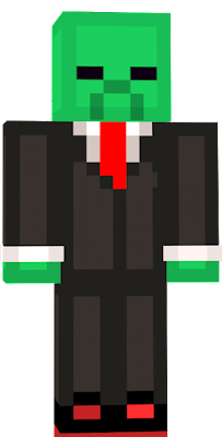 i made a tuxedo zombie for my friend. he sometimes uses this skin and thought i could make one