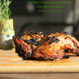 Grilled Chicken with Lemon, Rosemary, Tarragon and Mustard Recipe