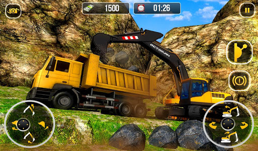 Heavy Excavator Crane - City Construction Sim 2017  screenshots 15