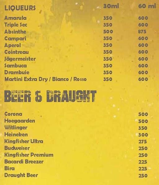 The Stadium Bar menu 7