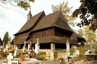 Photo: Drevený gotický kostolík . Historická pamiatka z prvej polovice 15. storočia. Pamiatka je zapísaná v EUROPE NOSTRA a UNESCU.