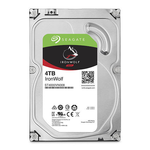 Ổ cứng HDD NAS Seagate Ironwolf 4TB 3.5