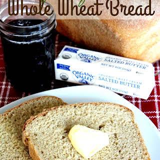 Easy Peasy Whole Wheat Bread.