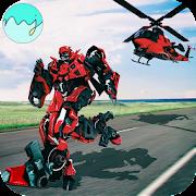 Helicopter Robot Transform 2018 – Robot War Game