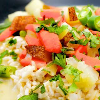 Super Quick Thai Curry [Vegan, Gluten-Free]