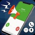 Caller Name Announcer - Sms Talker & Call Splash icon