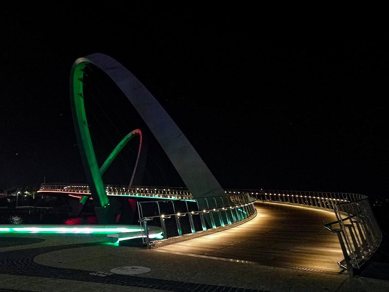 Elizabeth Quay Bridge di Morellato Marco