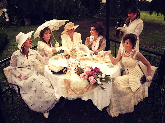 Women in the garden, di Claude Monet.. cinque minuti dopo. di letiziacaprettiphotography