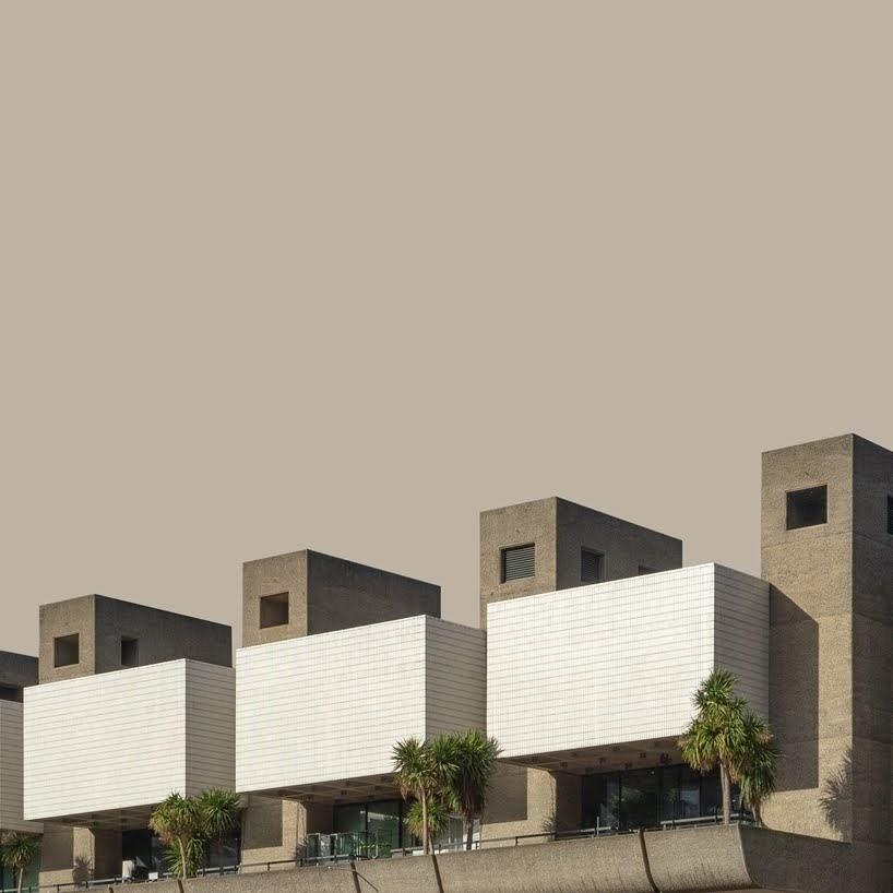 La belleza sometida de la arquitectura brutalista de Londres