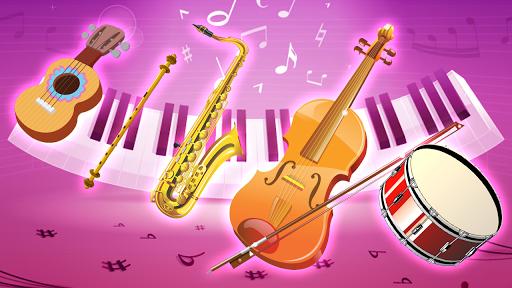 Real Pink Piano - Instruments Simulator Music Kid 1.2 screenshots 2