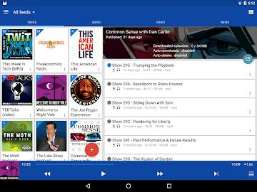 DoggCatcher Podcast Player Screenshot 9