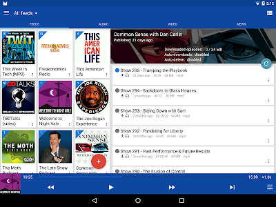 DoggCatcher Podcast Player v1.2.4144