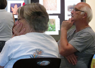 Photo: Pauline & Pete Munk watching Jerry Pepera's Presentation Photography by Walt Sturgeon